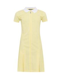 Avon Zip-Fronted Corded Gingham Dress (Banner) (913104) Yellow