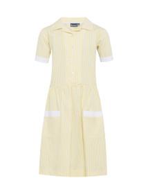 Kinsale Button Front Corded Stripe Dress (Banner) (913119)