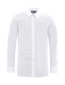 Boys Slim Fit School Long Sleeve School Shirt Twin Pack (Banner) (1VL)