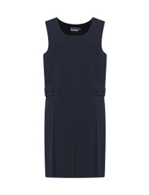 Tenby Double Box Pleat School Pinafore (Banner) (913701)