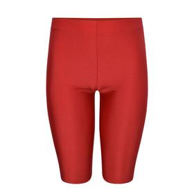 Shiny School Lycra Shorts (Zeco) (GS3084) Red