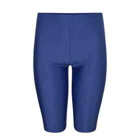 Shiny School Lycra Shorts (Zeco) (GS3084) Royal Blue