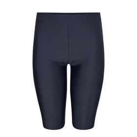Shiny School Lycra Shorts (Zeco) (GS3084) Navy