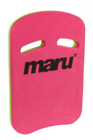 Two Grip Fitness Swimming Kickboard Pink/Lime (Maru) (AT7125-P)
