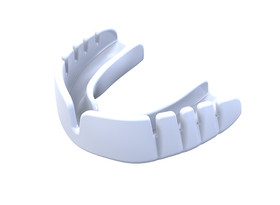 Snap-Fit Mouthguard Gum Shield (Opro) White