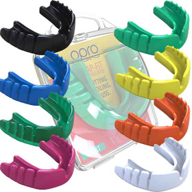 Snap-Fit Mouthguard Gum Shield (Opro) Adult and Junior