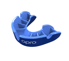 Self-Fit GEN4 SILVER Junior & Adult Mouthguard Gum Shield (Opro) Blue and Light Blue
