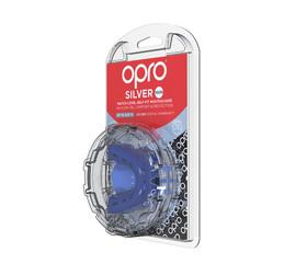 Self-Fit GEN4 SILVER Junior & Adult Mouthguard Gum Shield (Opro)