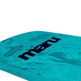 Blue Swirl Two Grip Fitness Swimming Kickboard (Maru) (AT7134)