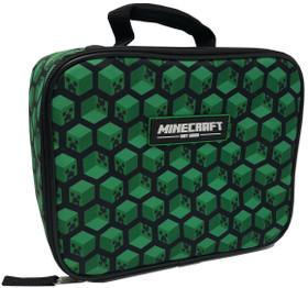 Minecraft Kids Childrens Minecraft Creeper Lunch Box School Lunch Bag