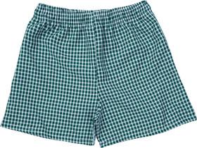 Gingham Under Shorts Bottle Green