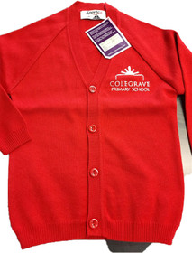 Colgrave Primary School  Knitted Cardigan
