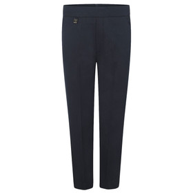 Boys Half Elastic Slim Fit Pull Up Trouser (Zeco)