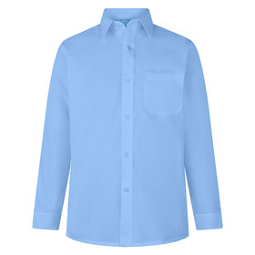 Boys Twin Pack School Wear LONG Sleeve Shirt (Zeco) (BS3094)