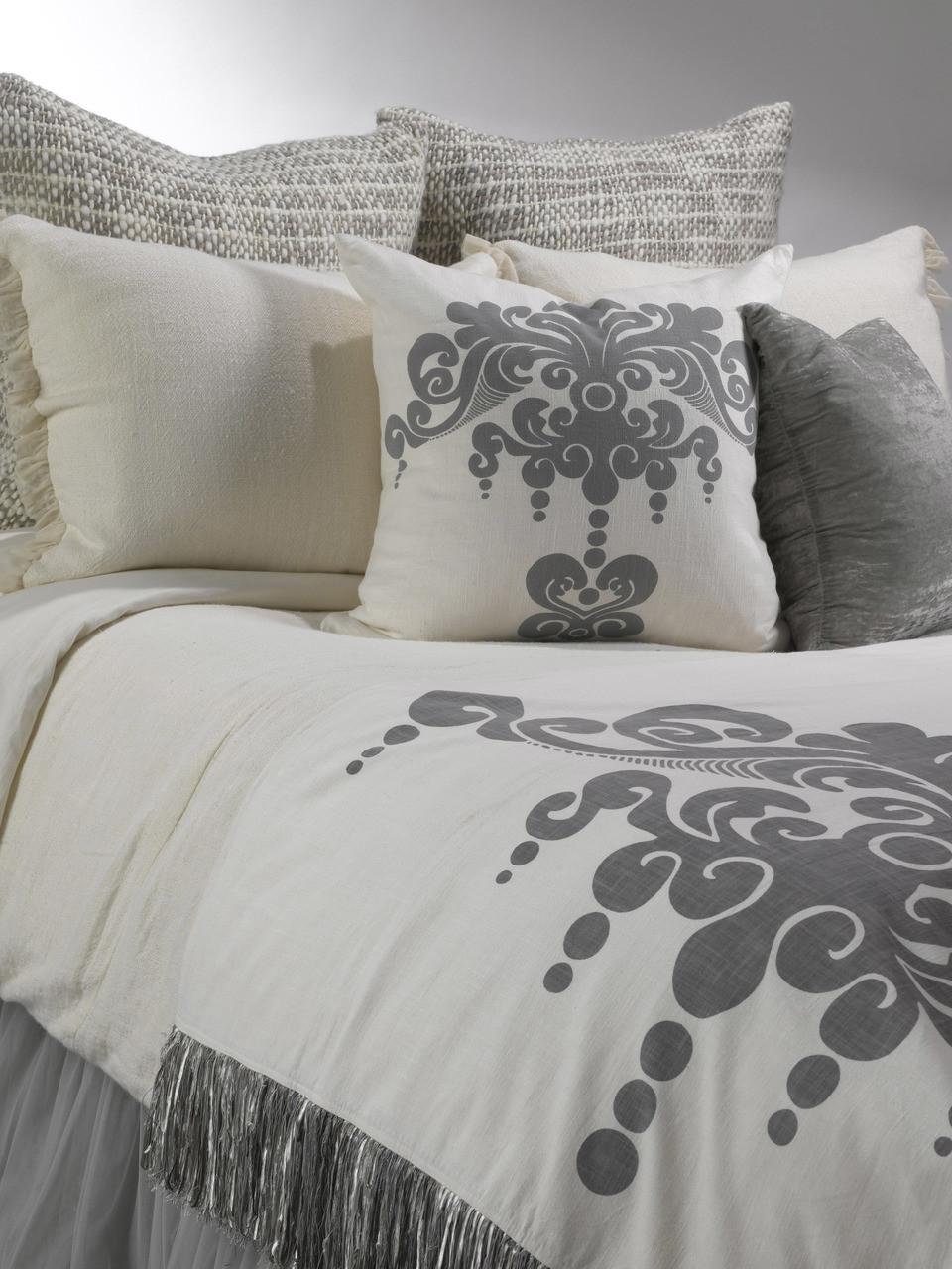 Couture Dreams Dreamy Grey Bedding Bundle