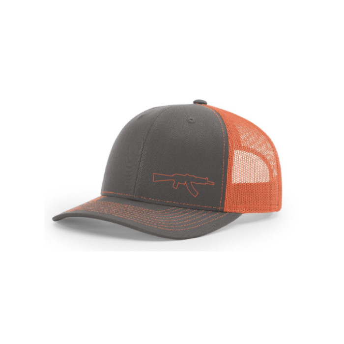 Krink Lid (Sherbert Orange/Charcoal)