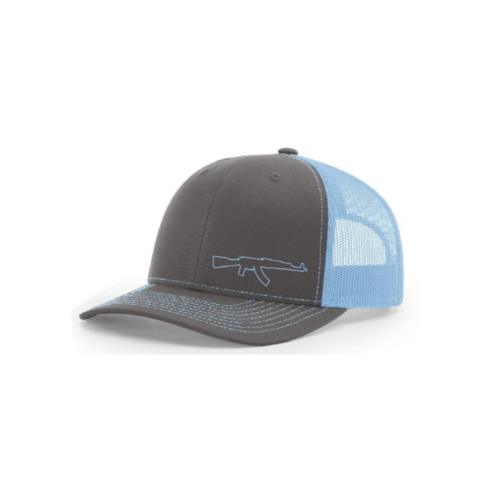 AK Lid (Light Blue/Charcoal)