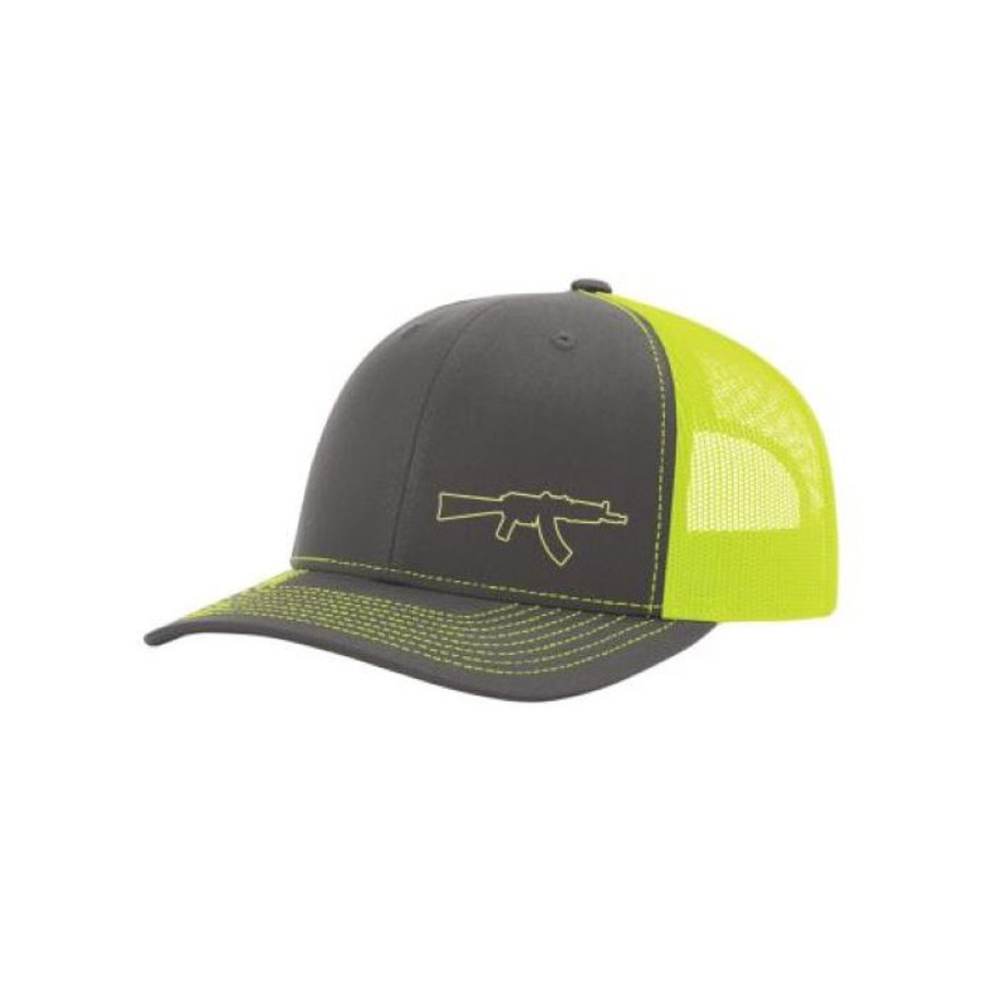 Krink Lid (Neon Yellow/Charcoal)