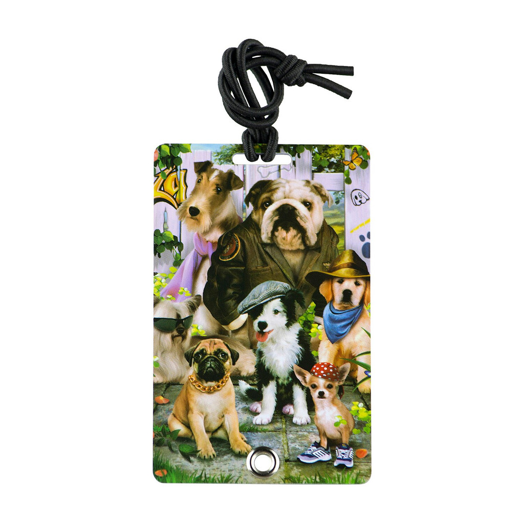 YaYtag - a secure and durable luggage ID tag.