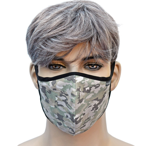 YaYmask - ACU Pattern Cloth Face Mask Front View