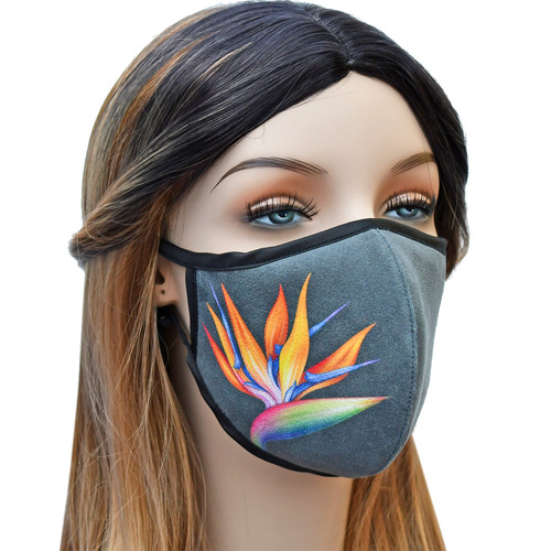 YaYmask - Cloth Face Mask Side View