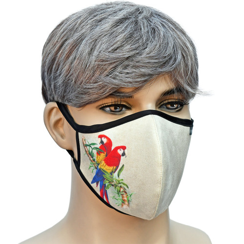 YaYmask - Cloth Face Mask Side View
