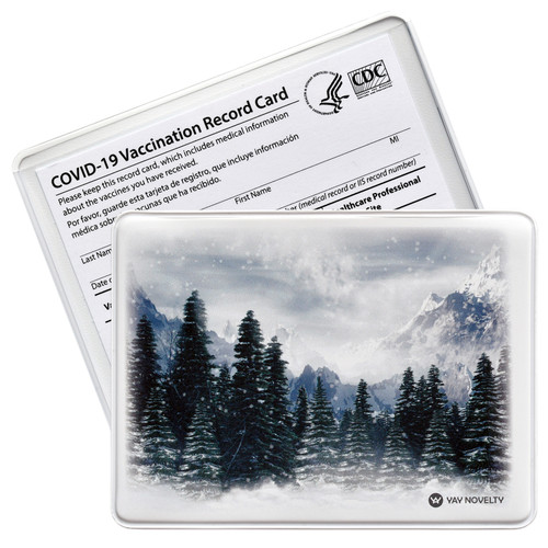 vaccination card holder - vaccine card protector
