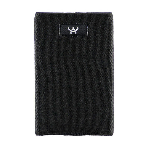 plain simple black color passport cover