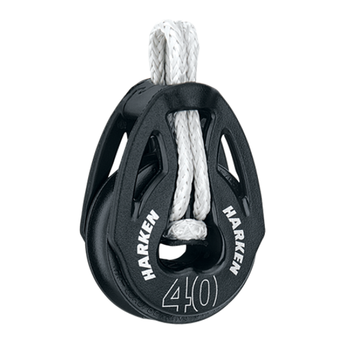 40 mm T2 Loop Soft-Attach Block