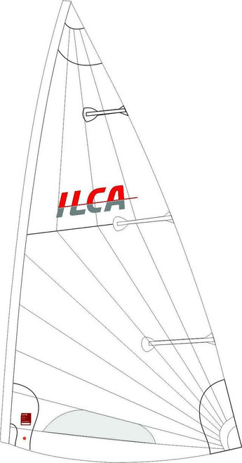 NORTH ILCA 7 Sail, Class-Legal (Compatible with Laser®Standard MK2 Sail)