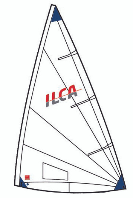 ILCA 6, Class legal sail.