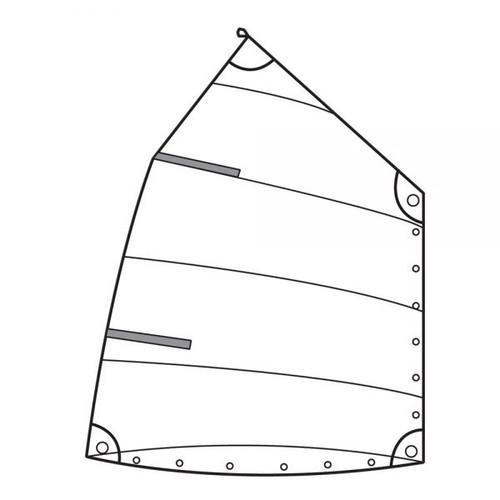 Optiparts Practice Sail  (no window or IODA button)