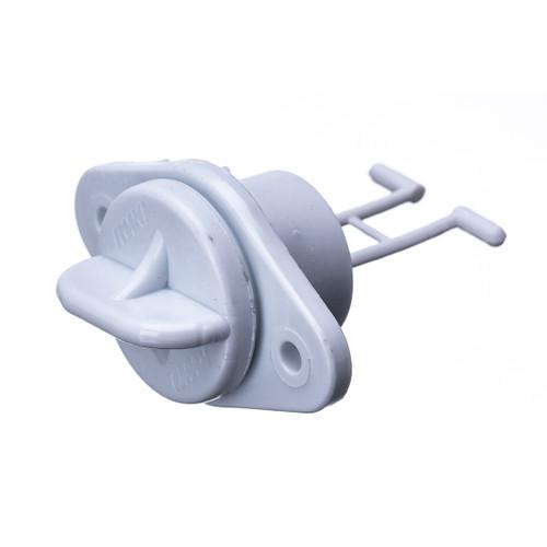 Drain Plug, White