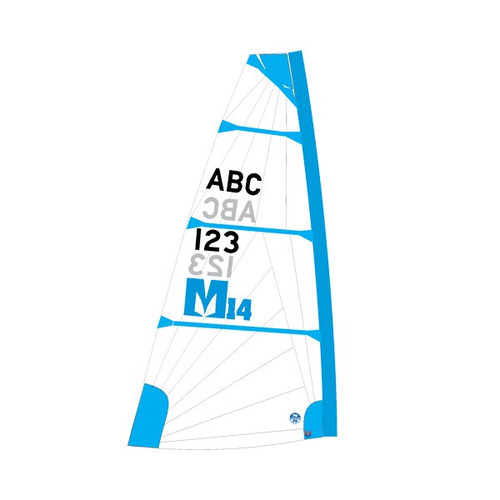 Melges 14 Sail – Blue (Mid-Range)
