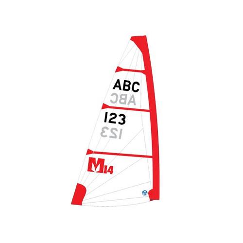 Melges 14 Sail – Red