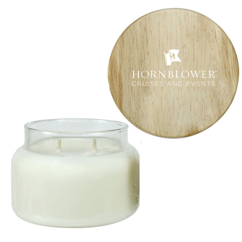 (Custom) Hornblower 10 Ounce Scented Apothecary Soy Candle