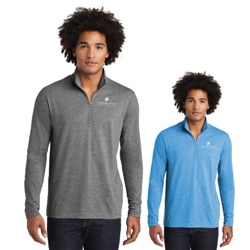 (Custom) Hornblower Sport-Tek ® PosiCharge ® Tri-Blend Wicking 1/4-Zip Pullover - Men's