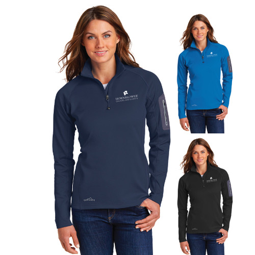 (Custom) Hornblower Eddie Bauer® 1/2-Zip  Performance Fleece - Ladies