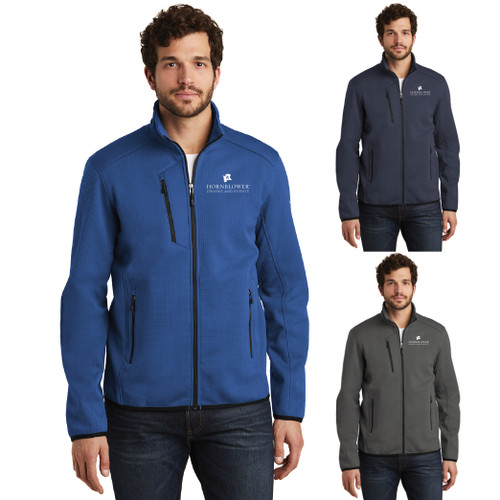 (Custom) Hornblower Eddie Bauer ® Dash Full-Zip Fleece Jacket - Men's