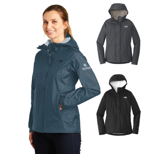 (Custom) Chesapeake Ladies The North Face® DryVent™ Rain Jacket