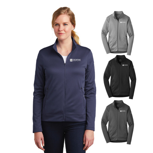 (Custom) Chesapeake Ladies Nike Therma-FIT  Full-Zip Fleece