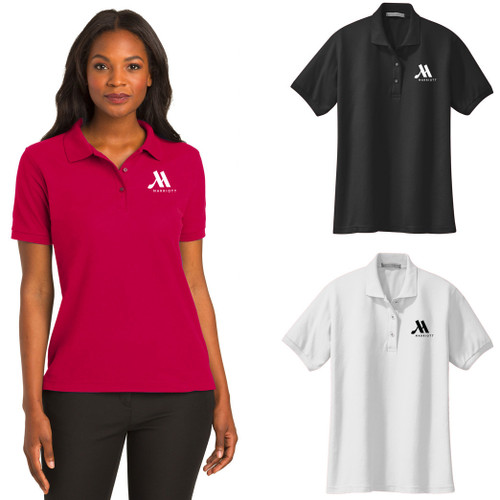 (Custom) Marriott Ladies Silk Touch™ Polo
