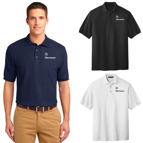 (Custom) Sheraton Men's Silk Touch™ Polo