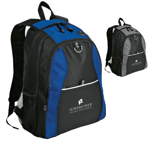 (Custom) Hornblower Port Authority® Contrast Honeycomb Backpack