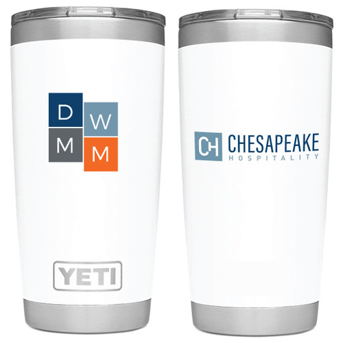 (Custom) Chesapeake 30oz Yeti Rambler Tumbler - White