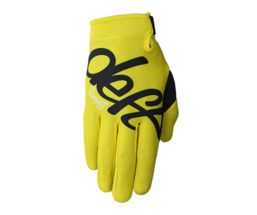 Made by riders for riders. Deft Family Gloves by Nate Adams. MX, FMX, BMX, MTB