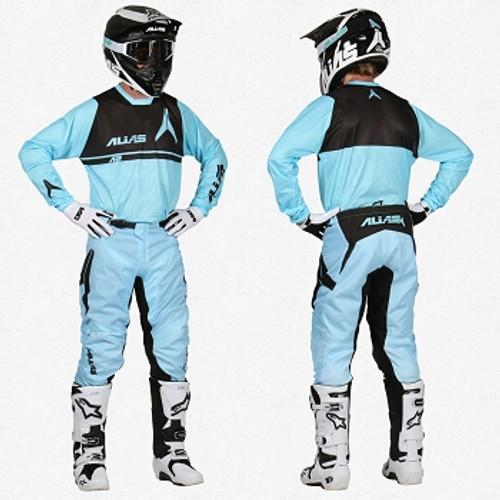 ALiAS MX A1 Tech Vented Jersey & Pant. MX, FMX, BMX, MTB