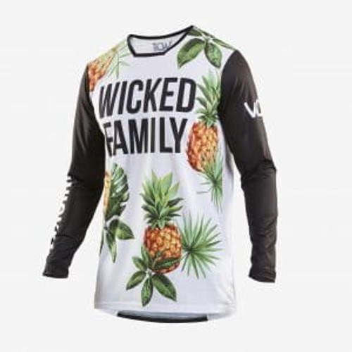 Wicked Family Youth Race Jersey.  BMX, MTB. FMX, MX