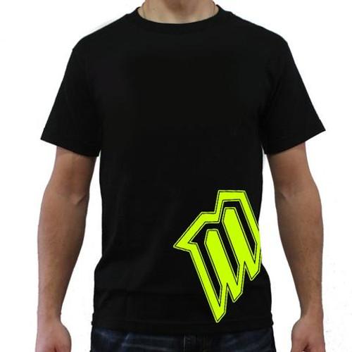 MotoOption BW Tee.  FMX, BMX, MTB, MX.