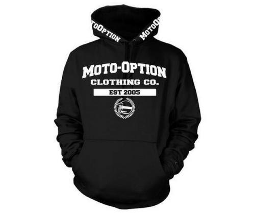 MotoOption Freshman Hoodie.   FMX, BMX, MTB, MX.